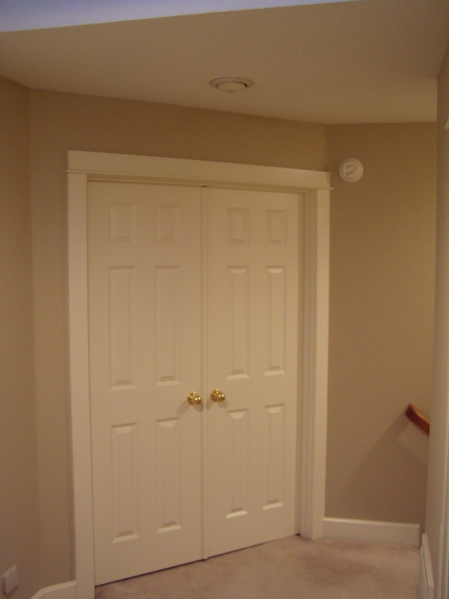 Double Closet Doors With Center Openings Chandler Building Company